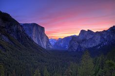 Yosemite Valley Sunrise by William McIntosh