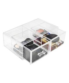 Sorbus Acrylic Cosmetics Makeup And Jewelry Storage Case Display Sets   Interlocking Drawers To Create Your Own Specially Designed Makeup Counter   Stackable ...