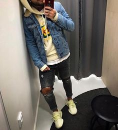 Behind The Scenes By dailystreetwearinspiration Mens Spring Fashion Outfits, Mens Fashion Wear, Big Men Fashion, Black Men Casual Fashion, Urban Fashion Men, Dope Outfits For Guys, Swag Outfits Men, Stylish Mens Outfits, Hype Clothing