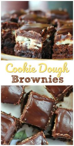 Chocolate fudge cupcakes cookie dough 23 Ideas for 2019 Köstliche Desserts, Chocolate Desserts, Delicious Desserts, Dessert Recipes, Yummy Food, Chocolate Fudge, Divine Chocolate, Chocolate Tarts, Mint Chocolate