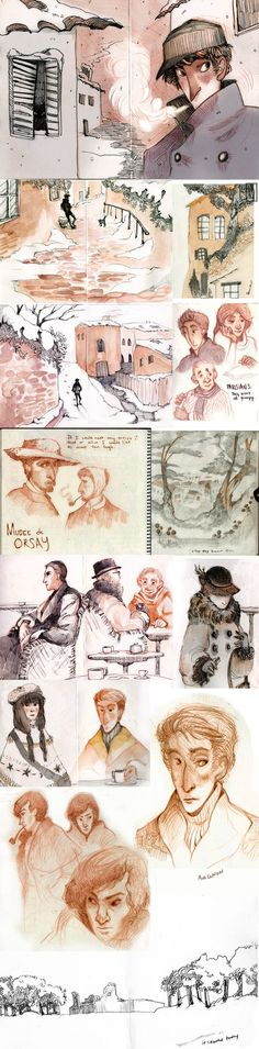 France sketchdump by ~papayashocka