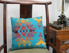 Pendleton Wool decorative Pillow Navajo Big Sun by UrbanCamp, $50.00