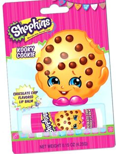 Kooky Cookie Lip Balm Shopkins Moose Toys