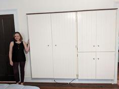 ClosetBoom , an explosion of new closet space Wardrobe Furniture, Wardrobe Design Bedroom, Closet Bedroom, Wall Mounted Closet, Hanging Closet, Closet Space Savers, Deep Closet, Furniture Grade Plywood, Armoire