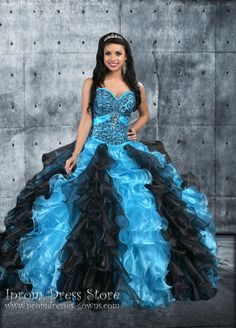 Ball Gown Sweetheart Neckline Floor length Sleeveless Organza Quinceanera Dress with Beading (SAS454)