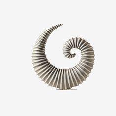 Spiral form by Frank Schillo Abstract Sculpture, Sculpture Art, Ceramic Pottery, Ceramic Art, Coral Art, Digital Light, Trash Art, Sculptures Céramiques, Art Decor