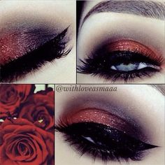 This dark red is perfect. I light a bright red but this is beautiful.