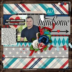 layout created with Card Me 3 Templates by Miss Fish Templates