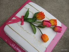 Narodeninová s tulipánmi