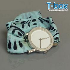 T-Box Kumaş Kordonlu Saat