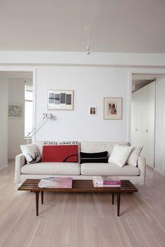 Perfectly minimal living room.