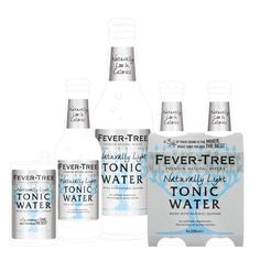 Fever-Tree Naturally light. Very soft, subtle citrus and fruit notes balanced by the bitterness of natural quinine. Slightly less sweet than Fever-Tree Indian Tonic Water. 58% fewer calories.