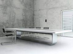 Mesa de conferencia S8000   Mesa de conferencia - THONET