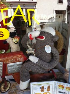 Dancing Bear Toys & Gifts in Frederick Md, one of my favorite stores:)