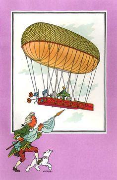 Ballon 07 : Ballon dirigeable du Duc de Chartres