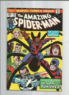 AMAZING SPIDER-MAN #135 Grade 7.0 Bronze Age find! 2nd full Punisher appearance! http://r.ebay.com/MIaGBE