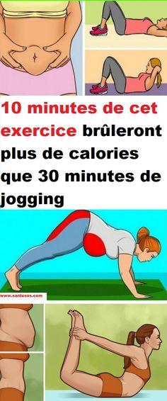 10 minutes de cet exercice brûleront plus de calories que 30 minutes de jogging