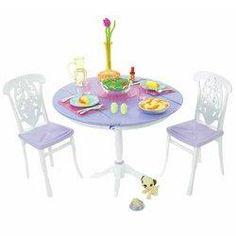 Barbie My House Table Set