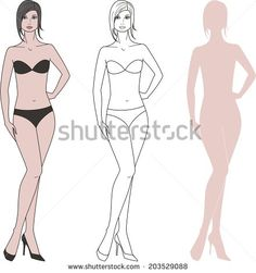 stock-photo-illustration-of-women-s-figure-raster-version-203529088.jpg (441×470)