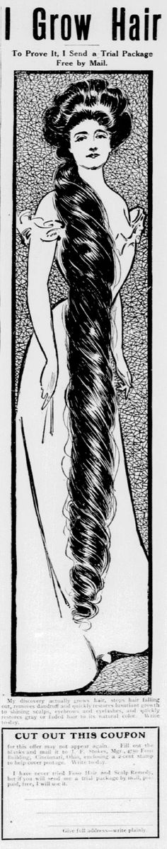 Foso Hair and Scalp Remedy. From the New York Tribune, 7 January 1906