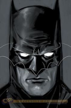 "Phil Noto's variant cover for ""Batman: Black and White"" #1"