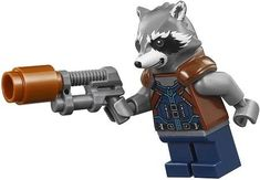 Rakete LEGO Avengers Infinity War Minifiguren - New Ideas The Avengers, Avengers Comics, Thor, Lego Disney Princess, Lego Man, Lego Technic, Lego Minifigure, Lego Marvel Super Heroes, Iron Spider