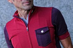 Isadore - Messenger Jersey Rio Red - Audacious the smart way #cyclingmemories