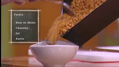 Farofa de chouriço com broa - Chefe Kiko - Chef's Academy