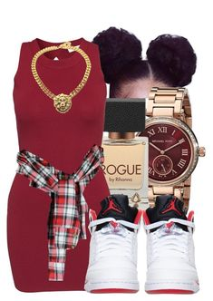 """""""Untitled #447"""" by starpretygirl ❤ liked on Polyvore featuring Michael Kors, Glamorous and Retrò"""
