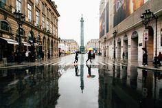 Paris - Rain. Vutheara.com