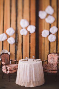 #sweethearttable #barn #barnwedding #wedding #barnwood #reception #decor #peach #KevinTrowbridge