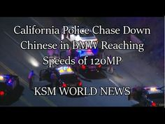 【KSM】中国人留学生 カリフォルニアで爆走し逮捕 18-Year-Old Student Allegedly Leads Police on ...