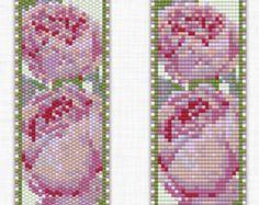 Loom Bead Pattern Peyote Bead Pattern Loom Bracelet Pattern