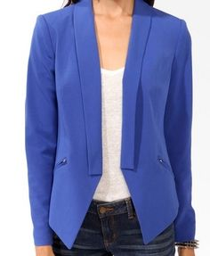 Great Blazer. Great Color. more here: http://buzznet.com/~g93d161