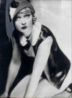 Anna Sten in a 1932 publicity photo. Sten was a Russian-born American silent film actress.