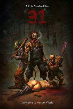 Rob Zombie 31 clowns