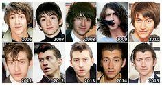 the evolution of alex turner 2008/2009 are my fav. Alex