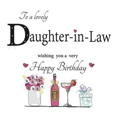 Free birthday cards for daughter in law on facebook free birthday birthday wishes for daughter in law best daughter in law birthday wishes to say happy bookmarktalkfo Images