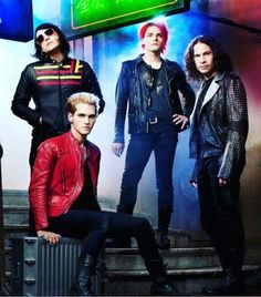 Gerard's pose. You can just see the sass radiating off him.