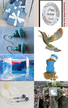 ...Blues... by Deanna on Etsy--Pinned with TreasuryPin.com