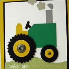 Tractor using punches