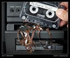 Recording music from the radio. your tape gets all screwed up. who hated that?I Remember this OLD BOY