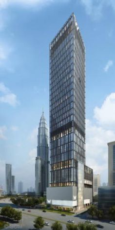 WKL Hotel and Residences in Kuala Lumpur by SOM