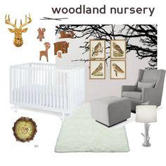 Woodland Nursery Inspiration Board