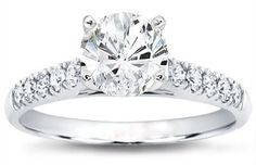 10.33 Ct Ct Round Cut G-VS2 Diamond Engagement Ring - Click to find out more - http://gioweddingrings.com/10-33-ct-ct-round-cut-g-vs2-diamond-engagement-ring/