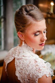 Festive Christmas Wedding Ideas: Bridal Hair and Lacy Hair | BridalGuide