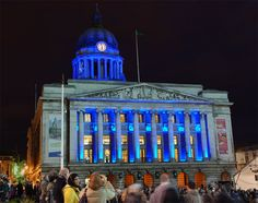 Architectural Lighting Design - Nottingham Council House, Nottingham, United Kingdom