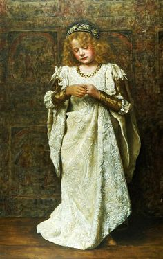 John Collier, 'The Child Bride' Beautiful picture, horrid situation