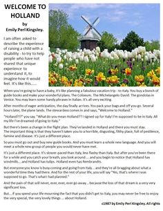 Welcome to Holland.  Wonderful description of not only parenting children with disabilities, but parenting in general!  Image from http://www.wallpaperstop.com/wallpapers/flower-wallpapers/holland-tulip-wallpaper-1600x1200-0149.html