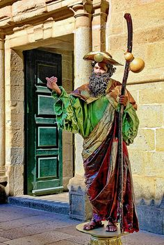 Spain Pilgrimage, Spanish Sides, St Jacques, The Camino, Medieval Life, Fantasy Places, Old Churches, Religious Icons, Middle Ages